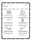 Digraph oo Phonics Practice