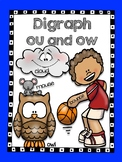 Digraph ou and ow - Word Work