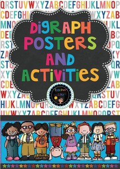Digraph posters and activities