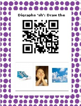 Digraph sh Find the picture Flipped classroom activity