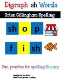 Digraph sh Worksheets ( Multi-sensory Spelling)
