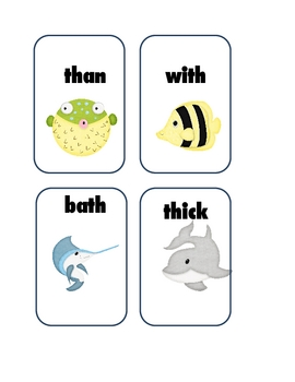 Digraph (th) Game and Read Around the Room