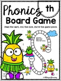 Digraph th PHONICS BOARD Game