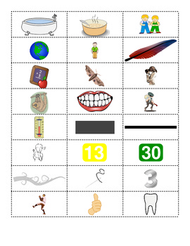 Digraph th Word Work Packet