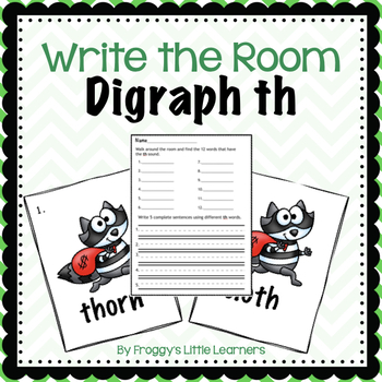Digraph th Write the Room
