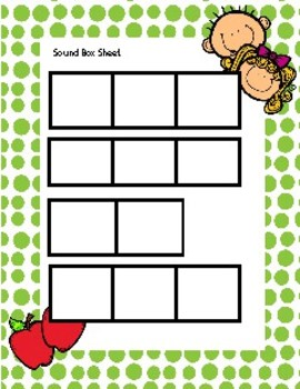 Digraph wh Write the word in sound boxes. QR coded Flipped classroom activity.