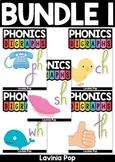 Digraph BUNDLE 1: CH, TH, SH, WH, PH Word Work {Multiple Phonograms}