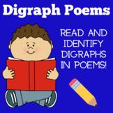 Digraphs | Kindergarten 1st 2nd 3rd Grade | Poems Activiti