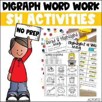 Digraphs SH Word Work
