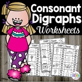 Digraphs Worksheets Color the Digraph