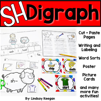 SH Digraph - Beginning and Ending Sounds