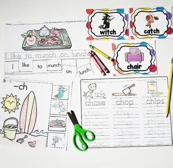 Digraphs Bundle - CH, SH, TH, PH and WH