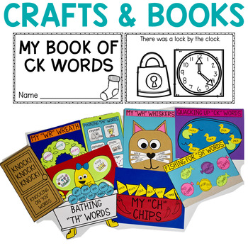 Digraphs Printables, Posters, and Activities