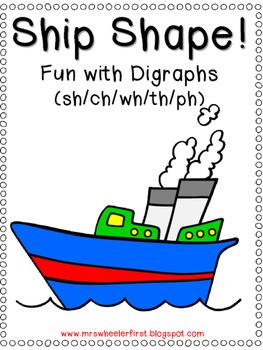 First Grade Phonics: Digraphs