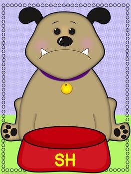 Digraph Word Sort: Dog-theme