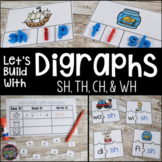 Digraphs th, sh, ch, and wh   Digraph Centers