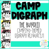 Camping-themed Digraph Activities- The Bundle!