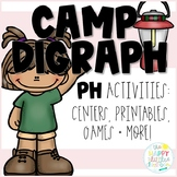Digraphs- Camping-themed /PH/ Activities
