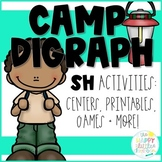 Digraphs- Camping-themed /SH/ Activities