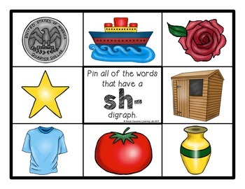 Digraphs - Self-Checking Phonics Centers