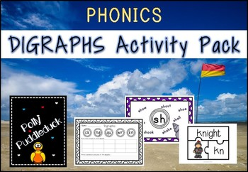 Digraphs Activity Pack