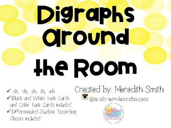 Digraphs Around the Room