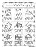 Digraphs Bingo Dab Activity Sheet ( ch- / sh- / th- / wh- )