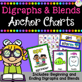 Digraphs & Blends - Anchor Charts