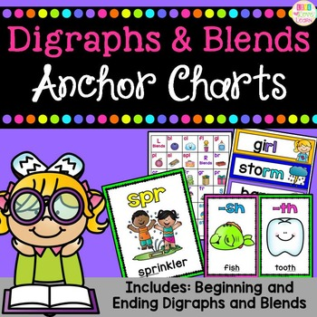 Digraphs & Blends - Anchor Charts