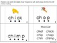 Digraphs/Blends Phonics Books SH, CK, TH, CH, EA, AKE, ING