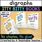 Digraphs Books {Itty Bitty Books}