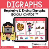 Digraphs Boom Cards | Beginning and Ending Digraphs Distan