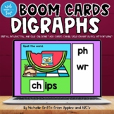 Digraphs Boom Cards / Digital Task Cards / Distance Learning