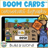 Consonant Digraphs Boom Cards | Distance Learning Resource