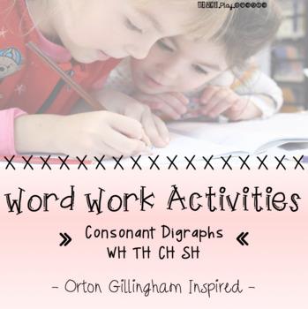Word Work Activities- Digraphs
