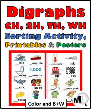 Digraphs Bundle - CH, SH, TH, WH