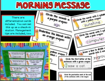 Digraphs Morning Messages SH CH