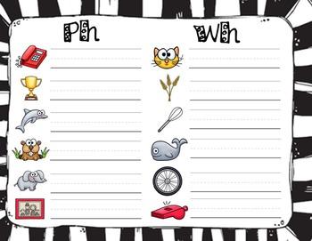 Digraphs (CH, SH, PH, TH, WH) Match