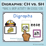 CH vs. SH: Digraphs (Distance Learning - Google Classroom