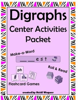 Digraphs Center Activities Packet