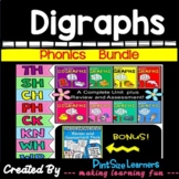 Digraphs Ck, Kn, Ph, Wr, Sh, Ch, Wh, Th No Prep Bundle