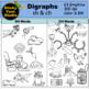 Digraphs Clip Art Bundle - SH and CH