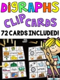 Digraphs Games Clip Cards Bundle
