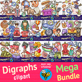 Digraphs Clipart Mega Bundle