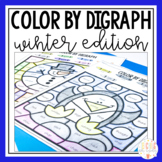 Coloring Pages Sheets   Winter Phonics   Digraphs Worksheets