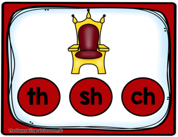 Digraphs Digital and Printable Task Cards PowerPoint Games