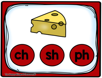 English Digraphs Digital and Printable Task Cards PowerPoint Games