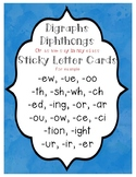 Digraphs, Diphthongs, and Sticky Letters