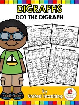 Digraphs: Dot the Digraph No Prep Packet