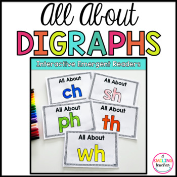 Digraphs Emergent Readers (Interactive)